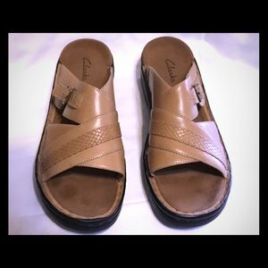 Clarks sandals. NWOB size 11